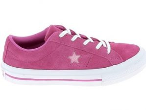 Xαμηλά Sneakers Converse One Star B C Fuschia [COMPOSITION_COMPLETE]