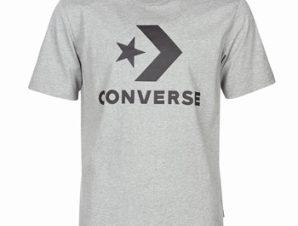 T-shirt με κοντά μανίκια Converse STAR CHEVRON Σύνθεση: Βαμβάκι