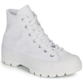 Ψηλά Sneakers Converse CHUCK TAYLOR ALL STAR LUGGED BASIC CANVAS ΣΤΕΛΕΧΟΣ: Ύφασμα & ΕΠΕΝΔΥΣΗ: Ύφασμα & ΕΣ. ΣΟΛΑ: Ύφασμα & ΕΞ. ΣΟΛΑ: Καουτσούκ