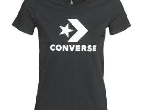 T-shirt με κοντά μανίκια Converse STAR CHEVRON TEE Σύνθεση: Βαμβάκι