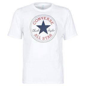 T-shirt με κοντά μανίκια Converse NOVA CHUCK PATCH TEE Σύνθεση: Βαμβάκι