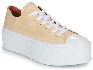 Xαμηλά Sneakers Converse CHUCK TAYLOR ALL STAR LIFT 2X HYBRID SHINE OX ΣΤΕΛΕΧΟΣ: Ύφασμα & ΕΠΕΝΔΥΣΗ: & ΕΣ. ΣΟΛΑ: & ΕΞ. ΣΟΛΑ: Καουτσούκ