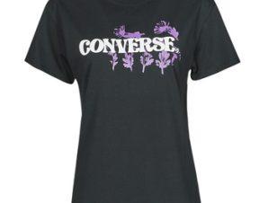 T-shirt με κοντά μανίκια Converse HYBRID FLOWER RELAXED TEE
