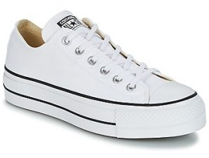 Xαμηλά Sneakers Converse Chuck Taylor All Star Lift Clean Ox Core Canvas ΣΤΕΛΕΧΟΣ: Ύφασμα & ΕΠΕΝΔΥΣΗ: Ύφασμα & ΕΣ. ΣΟΛΑ: Ύφασμα & ΕΞ. ΣΟΛΑ: Καουτσούκ