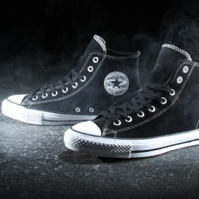 Black Suede Converse Chuck Taylor