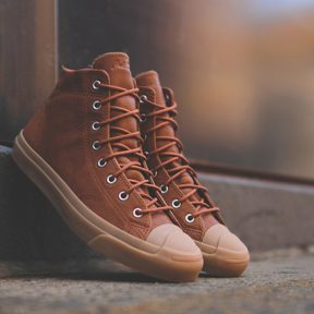 "Converse Jack Purcell Mid ""Brown Gum"""
