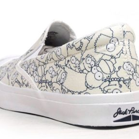 """Converse Jack Purcell Slip-On """"The Simpsons"""""""