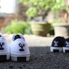 "Denham x Converse All Star Jack Purcell ""Scissor Face"""